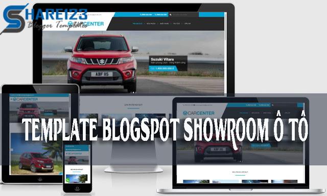 Template blogspot showroom ô tô việt hóa full