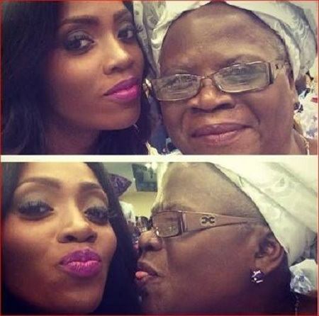 See Tiwa Savage's Mother TeeBillz Called a Witch (Photos)