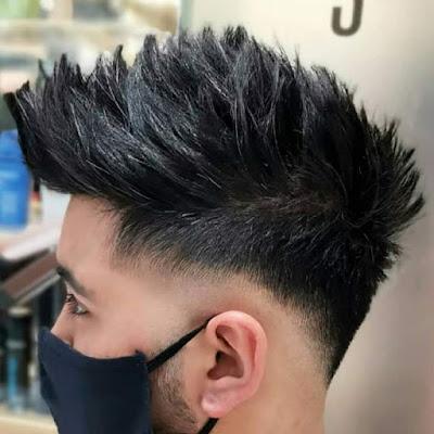 Model Rambul Pria Textured Top