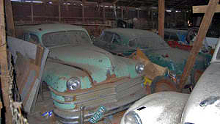 Just A Car Guy: Ghost town with a decaying car collection ...