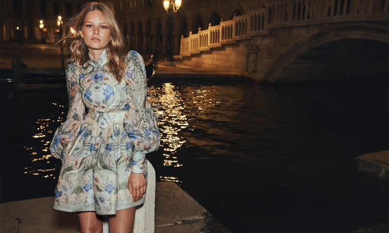 Zimmermann sets fall 2021 campaign in Venice, Italy.