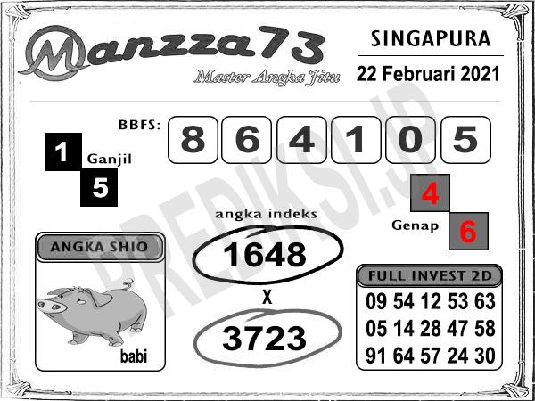 Manzza73 SGP Senin