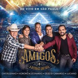 Baixar CD A História Continua (Ao vivo em São Paulo) - Amigos 2019 Grátis