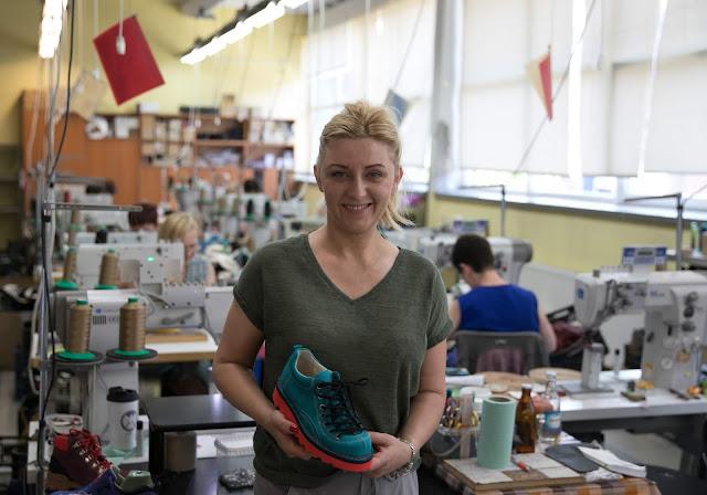 Nagaba - polska firma obuwnicza o ponad 25-letniej tradycji. Rozmowa z Ewą Brych-Nagabą