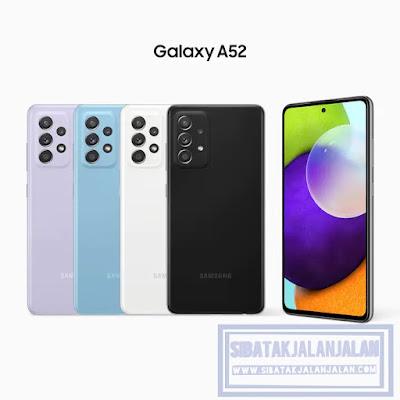 samsung a52 smartphone 5g di indonesia