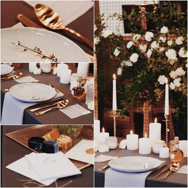 Konsultant ślubny, Wedding Planner, talk about love, romantyczny ślub, vintage, złoto. Zastawa stołowa, dekoracje na ślub. Alternatywne Targi Ślubne. Targi Happy Together.