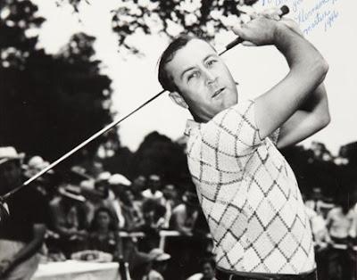 Golfer Herman Keiser
