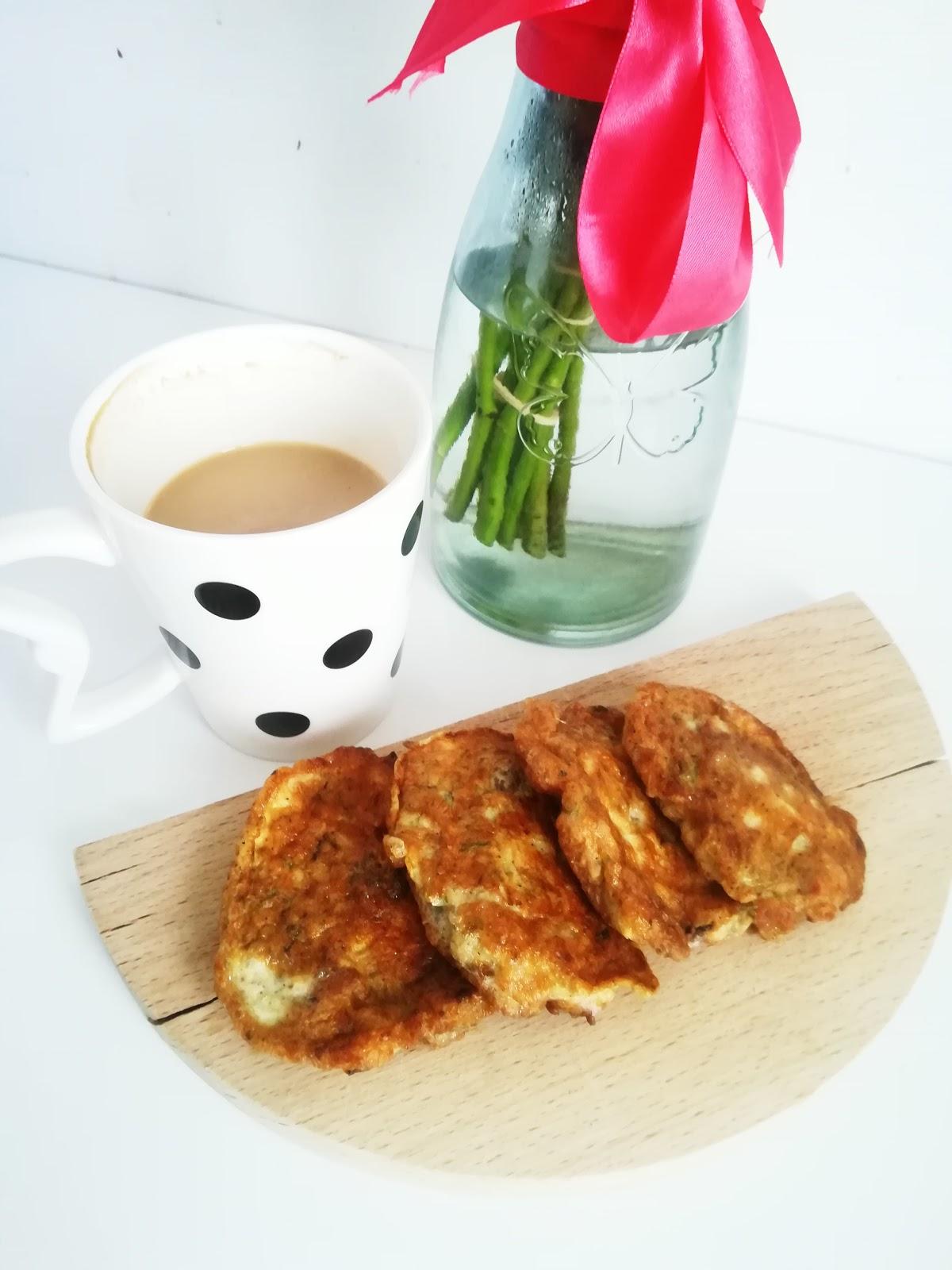 Placuszki jajeczne - idealne na śniadanie