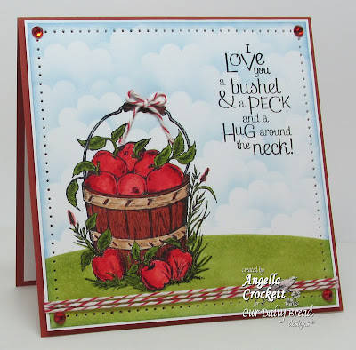 "ODBD ""Apples"" Card Designer Angie Crockett"