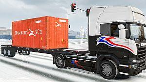 Hamburg Container trailer standalone