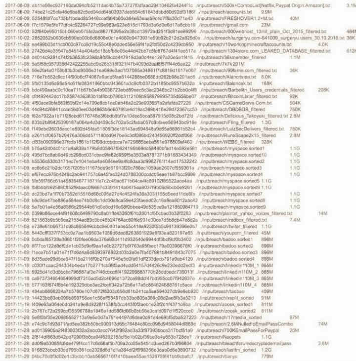 darkweb-listagem