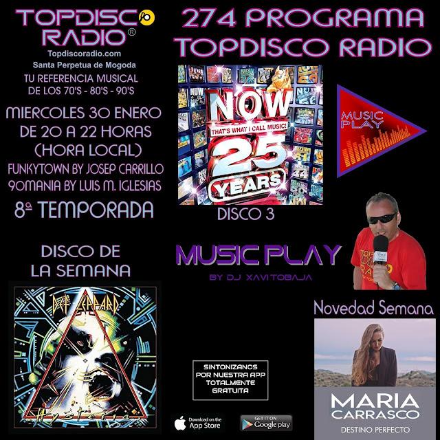 274 Programa Topdisco Radio