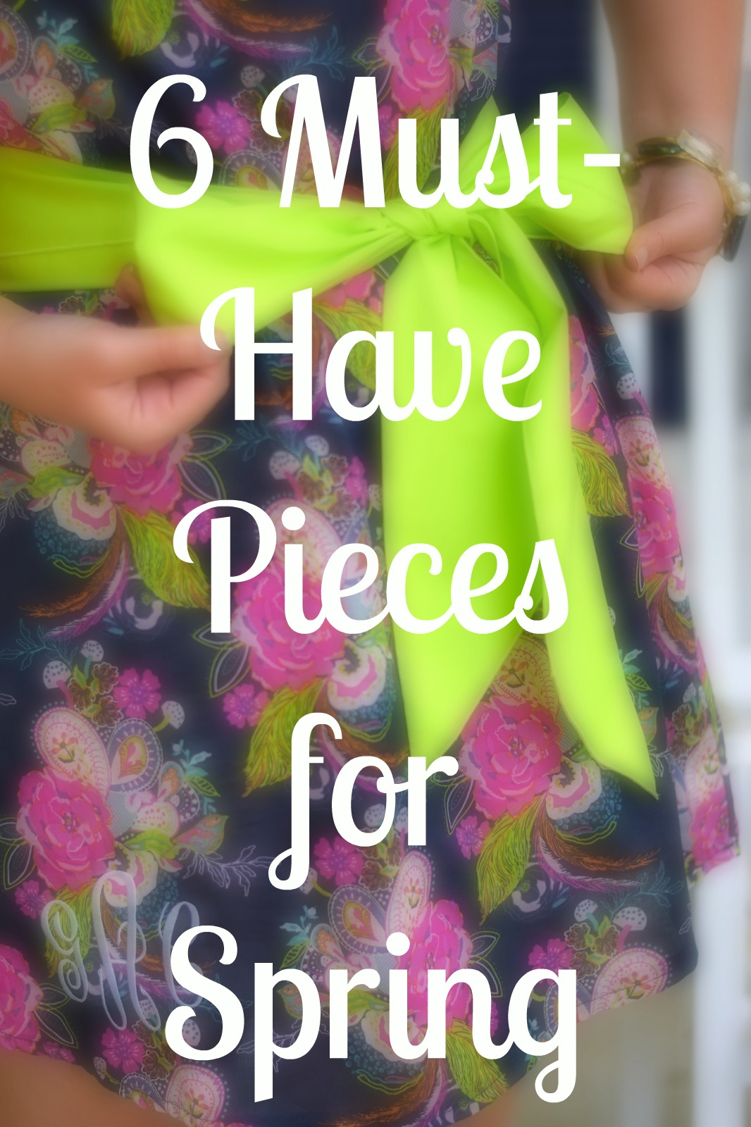 6 Spring Wardrobe Essentials