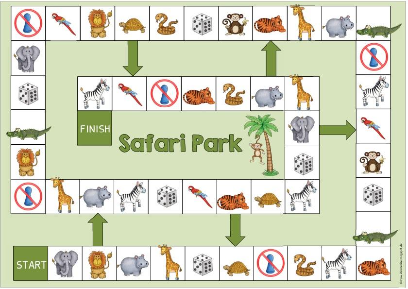 ideenreise spielfeld safari park wild animals. Black Bedroom Furniture Sets. Home Design Ideas