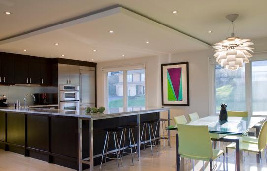 Fotos de techos fotos de cocinas comedor modernas - Fotos de cocina comedor ...