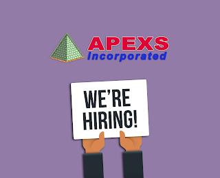 APEXS: Job hiring for Sales Executive
