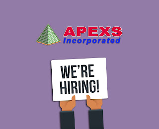 APEXS: Job Hiring for Technical Supervisor/Support Engineer – Male