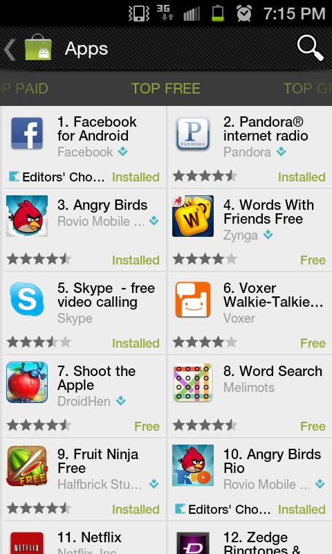 Free APK Android Apps: Market v3 4 4 - Download APK