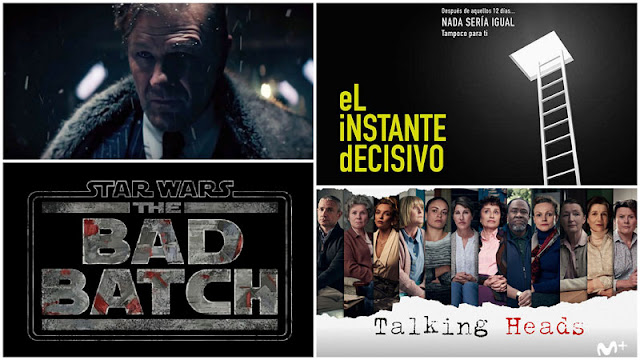 Noticias: avance 2ª temporada 'Snowpiercer', 'Star wars: the bad batch', 'Talking heads' de Movistar+ y 'El instante decisivo' de A3