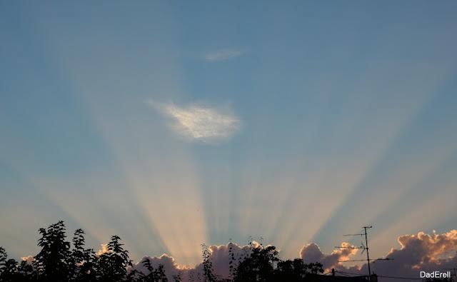 Rayons de Soleil un soir