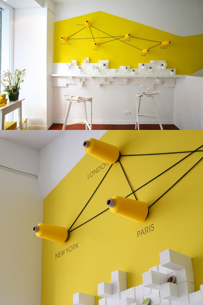 yellow-feature-wall