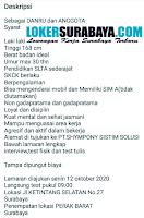 Walk In Interview at PT. Shympony Sistim Solusi Surabaya Oktober 2020