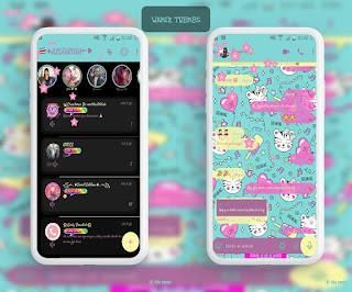 Animal Cute Theme For YOWhatsApp & Mix WhatsApp By Ale