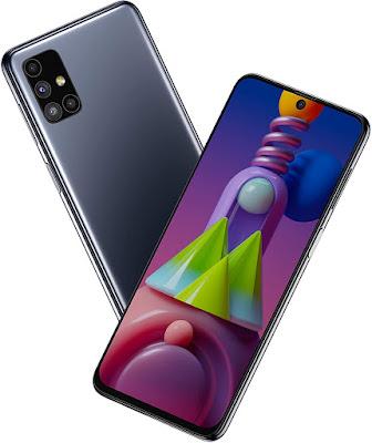 Samsung Galaxy M51 Black colour
