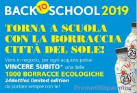 Logo Città del Sole Day 2019 ''Back To School'': vinci subito una delle 1000 borracce ecologiche 24Bottles
