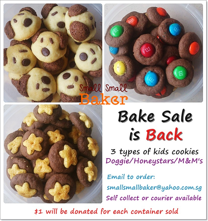 Small Small Baker Bake sale is back - Kids special!