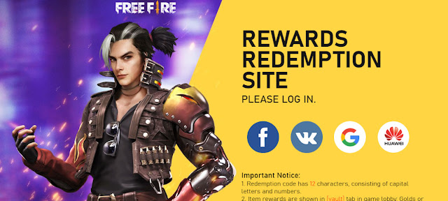 redeem free fire