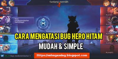 Cara Mudah Untuk Perbaiki Bug Gambar Hero Hitam di Mobile Legends