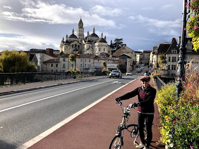 French Village Diaries cycling in the Dordogne before lockdown