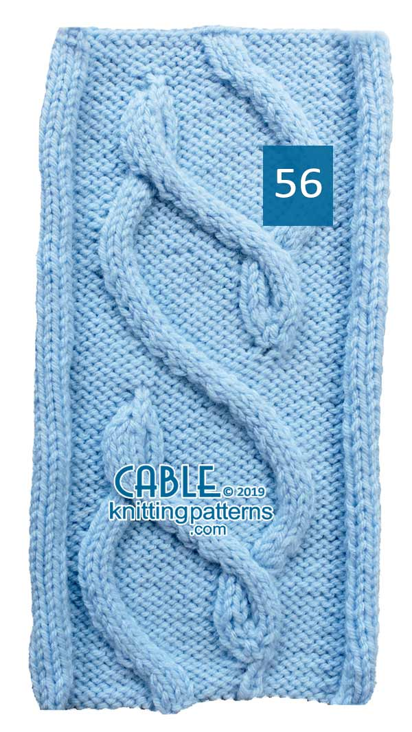 Cable Knitting Pattern 56