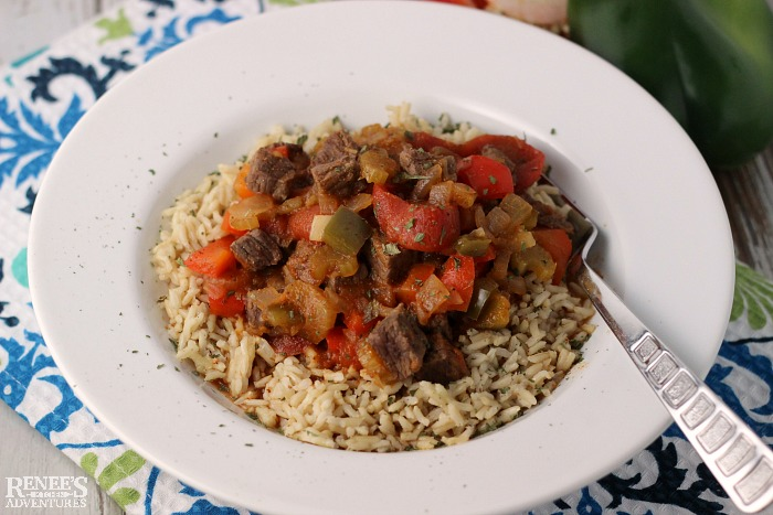 Creole Beef and Rice Bowls | Renee's Kitchen Adventures
