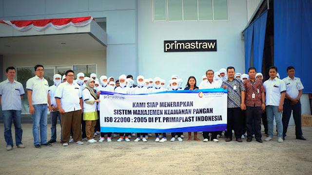 Lowongan Kerja Banyak Posisi PT Primaplast Indonesia Serang