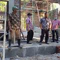 Pemkab Mitra Monitoring Pembangunan Gedung Serbaguna Kebun Raya Megawati