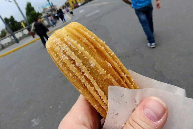 Peru Food: Churro in Lima