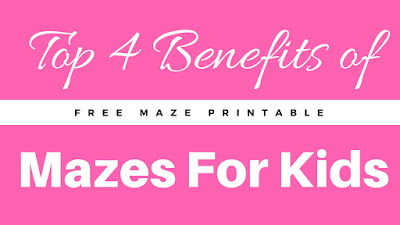 benefits of mazes kids free printable worksheet spring theme