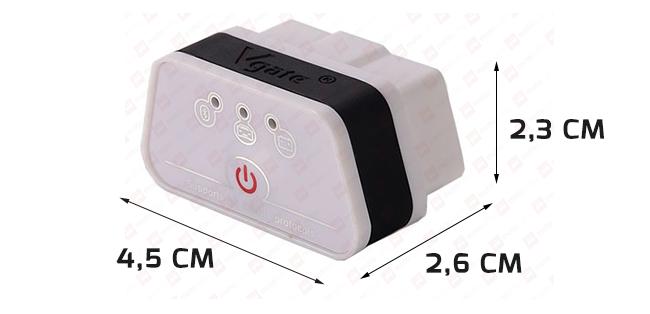 iCar2 4.0 Bluetooth LE biały