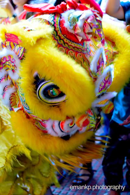 CHINATOWN PHOTOWALK 2016: Yellow Lion