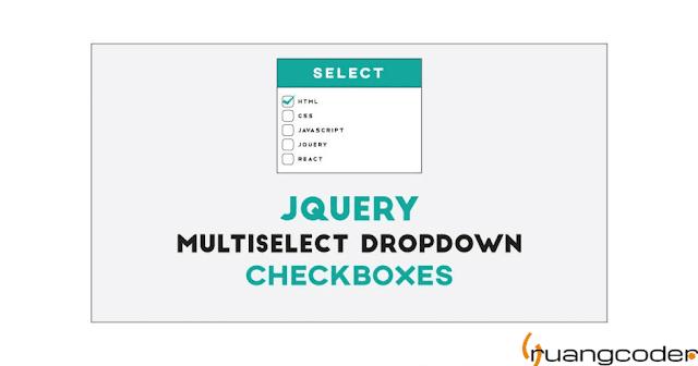 Membuat Multiple Select Checkbox dengan jQuery