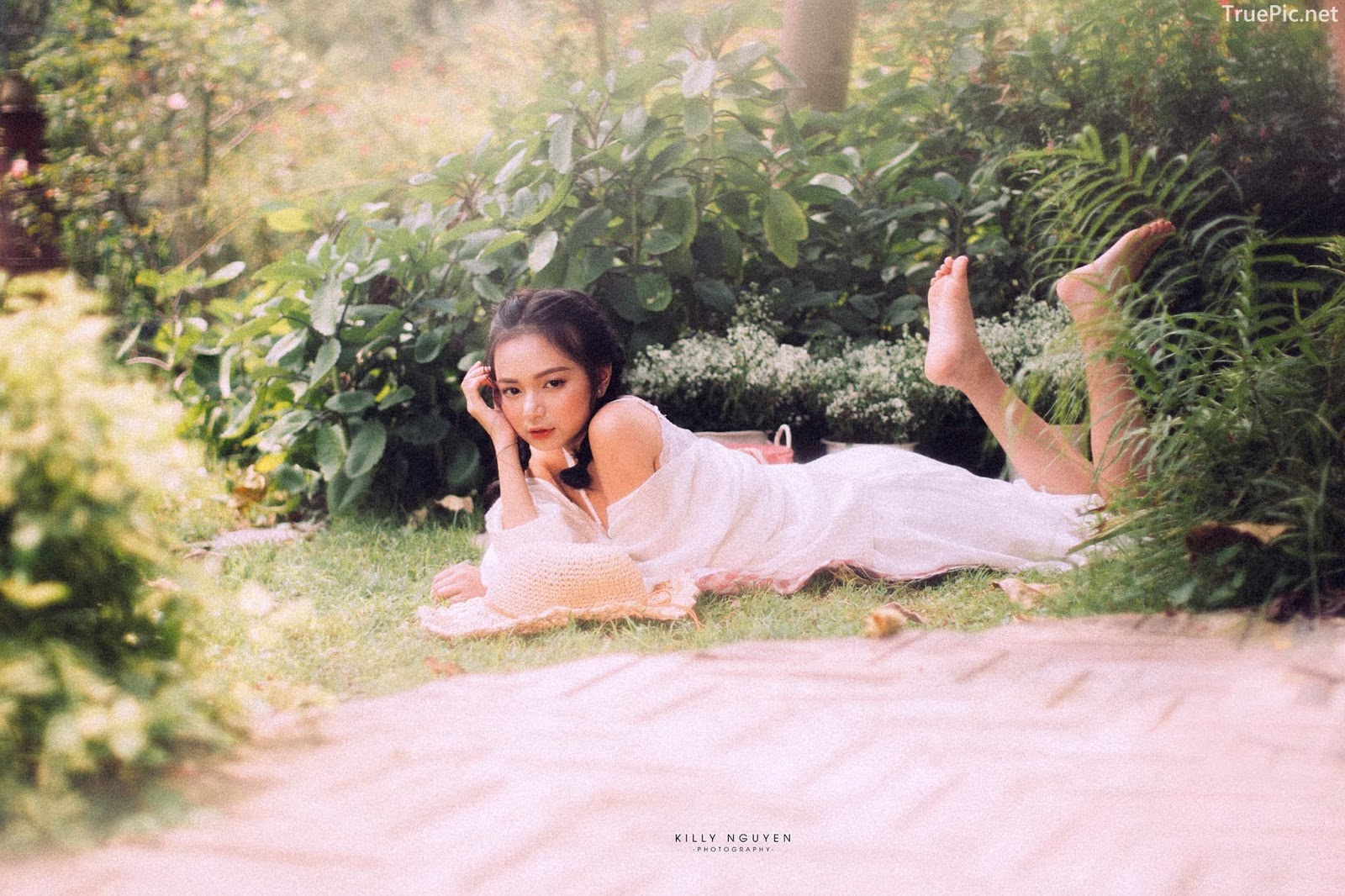 Vietnamese Sexy Model - Vu Ngoc Kim Chi - Beautiful in white - TruePic.net- Picture 42