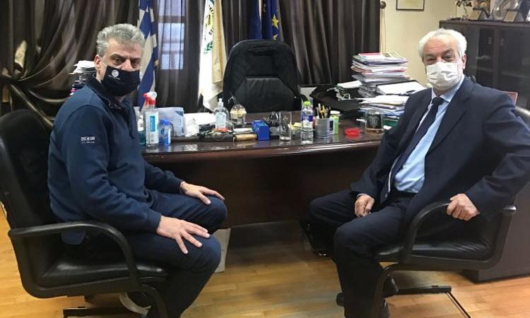 Συνάντηση του Δημάρχου Ορεστιάδας με τον Πρύτανη του ΔΠΘ