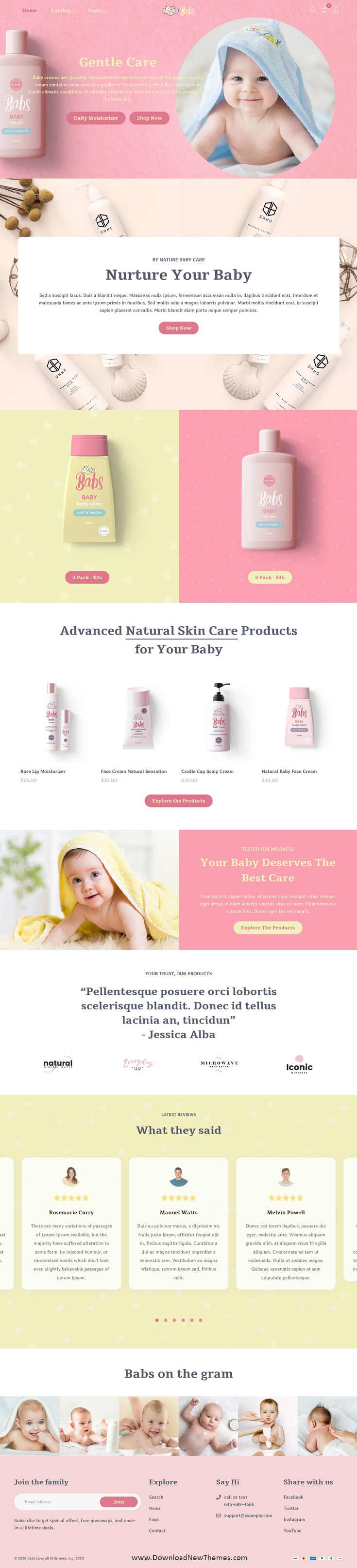Baby Shop Shopify Theme