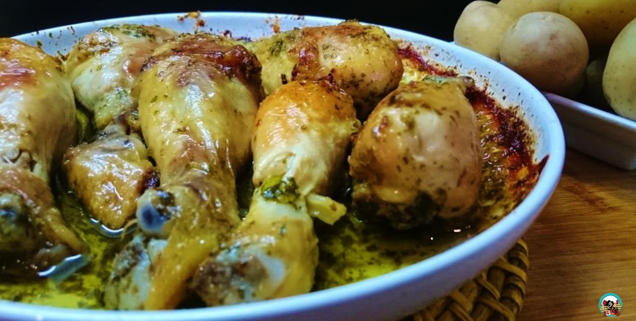 The gallery for ensaladas de pollo - Muslitos de pollo ...