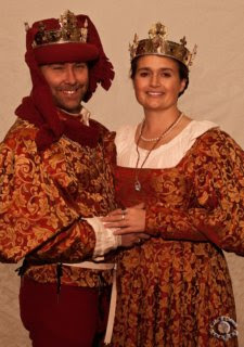 professional photograph of a portrait of the king and queen of the Kingdom of Artemisia, Society for Creative Anachornism in Idaho Falls, Bonneville, Idaho by Cramer Imaging
