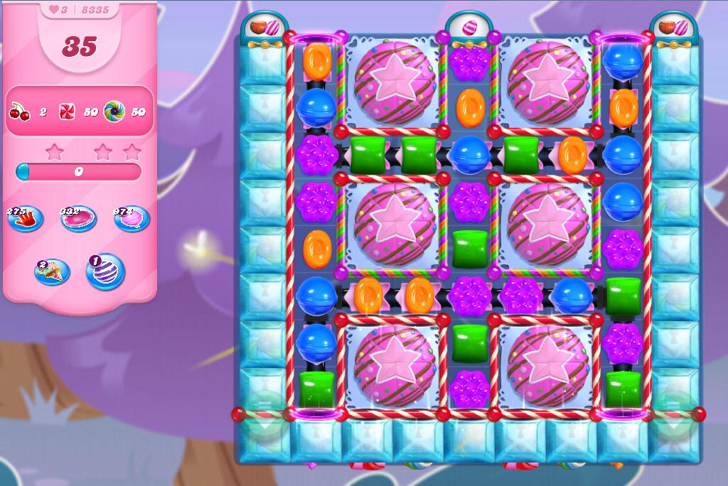 Candy Crush Saga level 8335