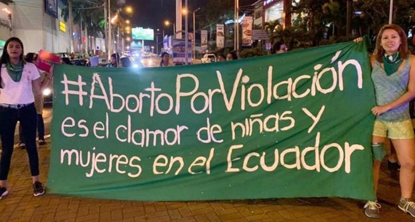 Ecuador sigue dando la espalda a los derechos de sus mujeres