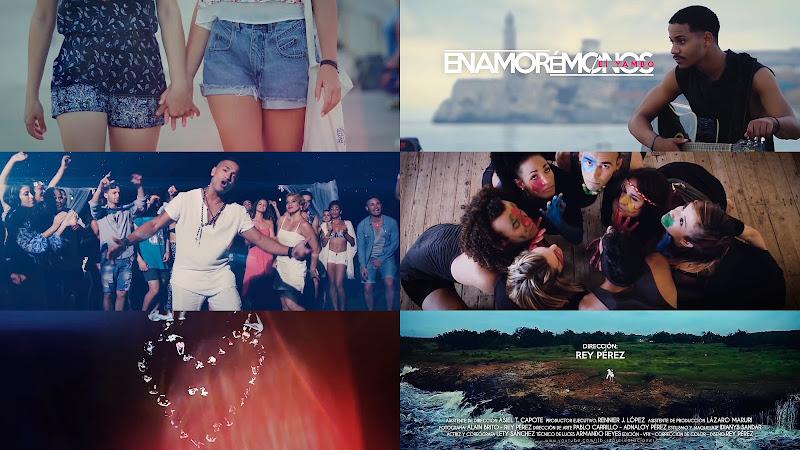 El Yambo - ¨Enamorémonos¨ - Videoclip - Director: Rey Pérez. Portal Del Vídeo Clip Cubano. Música cubana. TOP TEN 7D. CUBA.